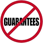 These bucking bars are NOT covered by our guarantee.